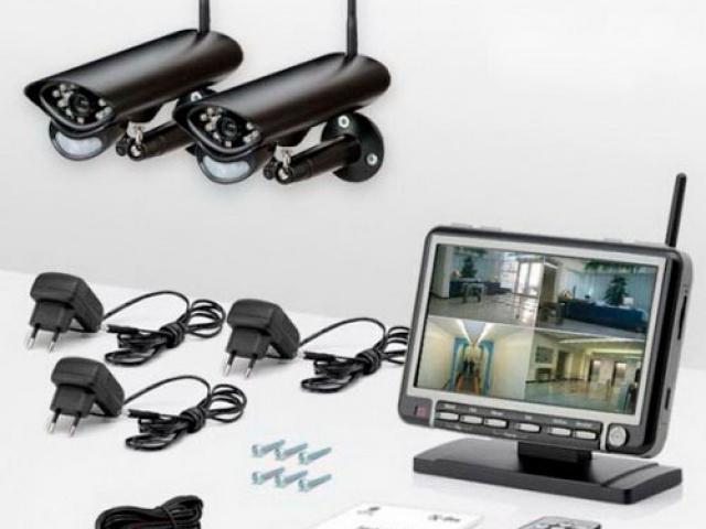 Беспроводное видеонаблюдение для дома